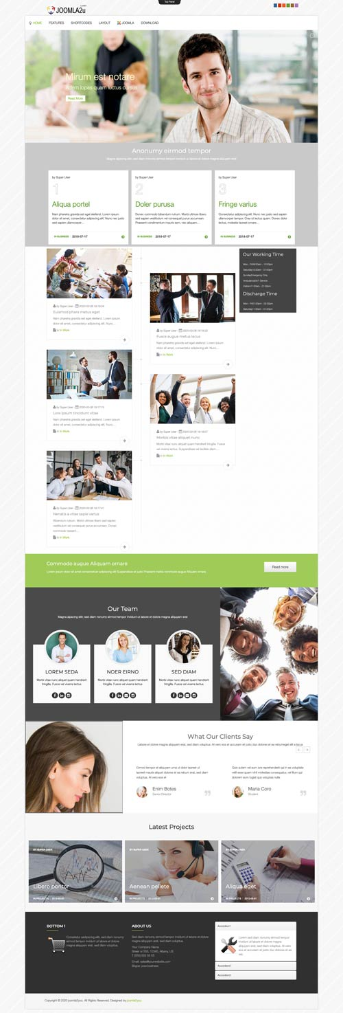 Business Consulting Joomla Template