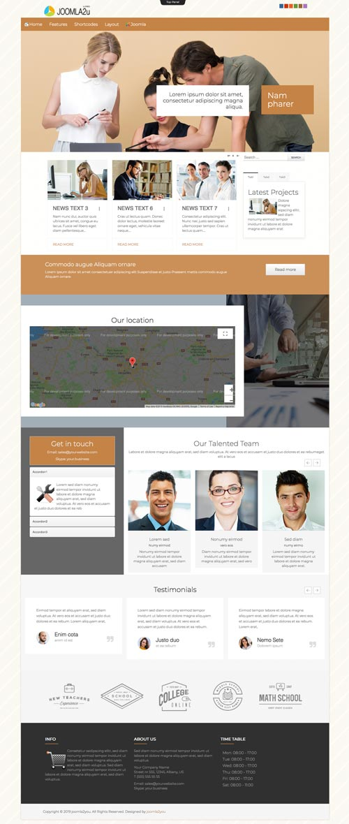 Finance & Investment Consulting Joomla Template